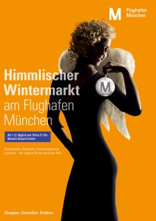 Kunde FLUGHAFEN MÜNCHEN / Agentur RED / Projekt NONAVIATIONKAMPAGNE / Job DIGITALSUPPORT ON LOCATION, RETOUCH, COMPOSING
